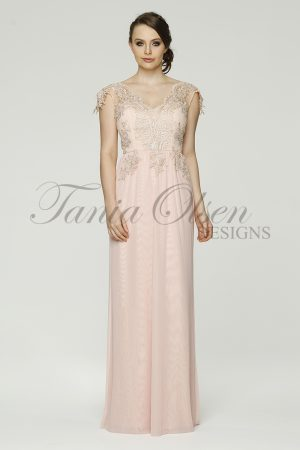 Chelsea Bridesmaid dress TO49 Blush