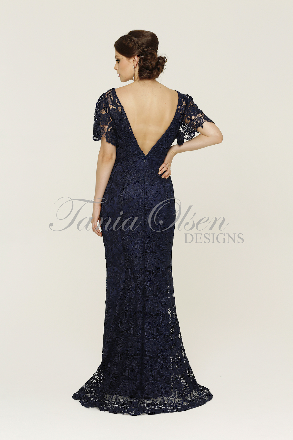 Nadia Navy Formal Dress