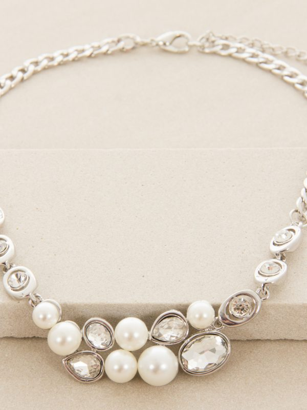 Pearl & Jewel Mix Necklace
