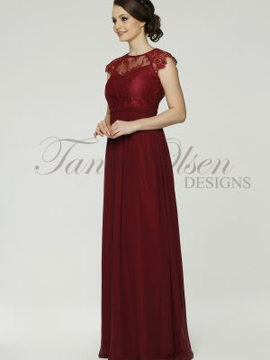 Camilla Bridesmiads dress TO37 merlot side