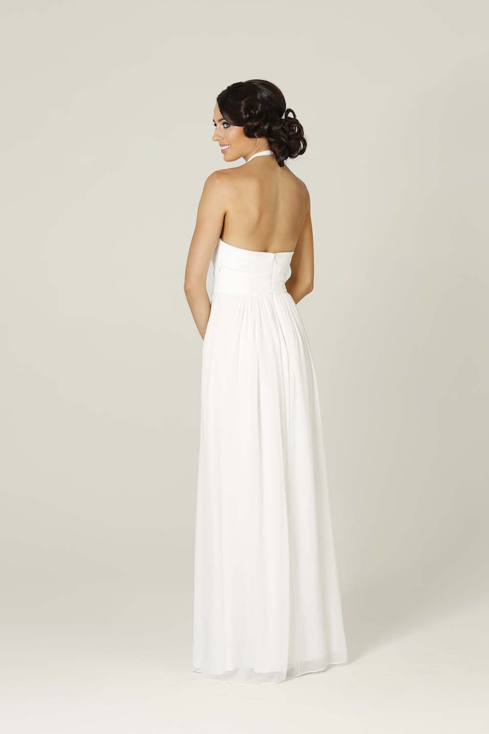 Harlow Wedding Dress pure white