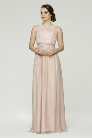 Monica Bridesmaid dress TO45 tea rose