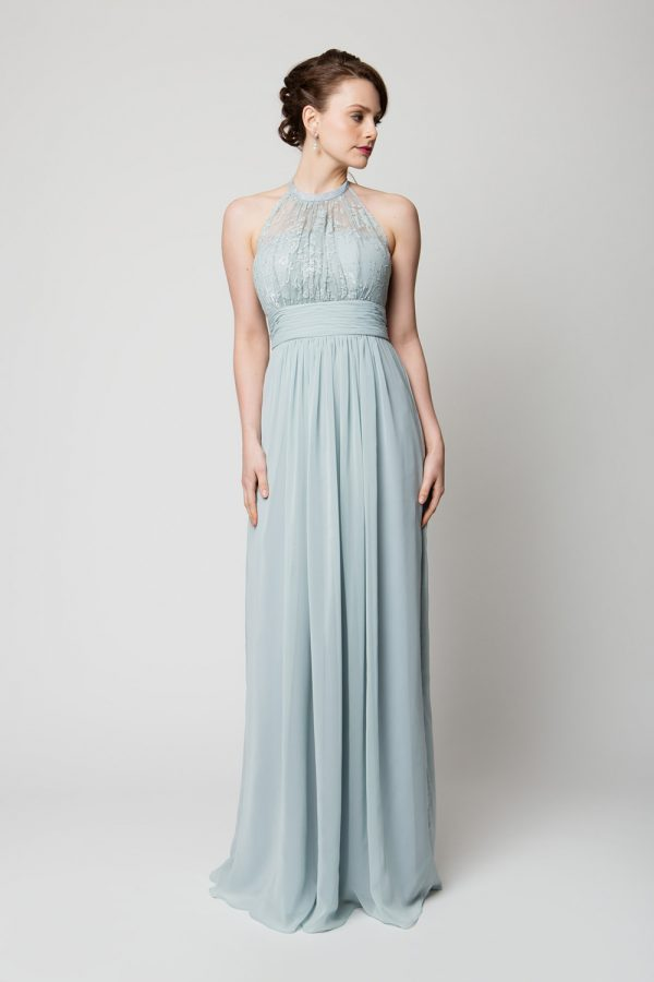 PO33 Harlow Bridesmaids dress - end of dye lot powder blue