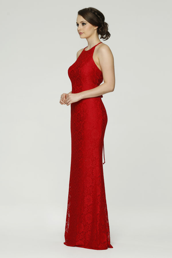 Saide Formal dress side