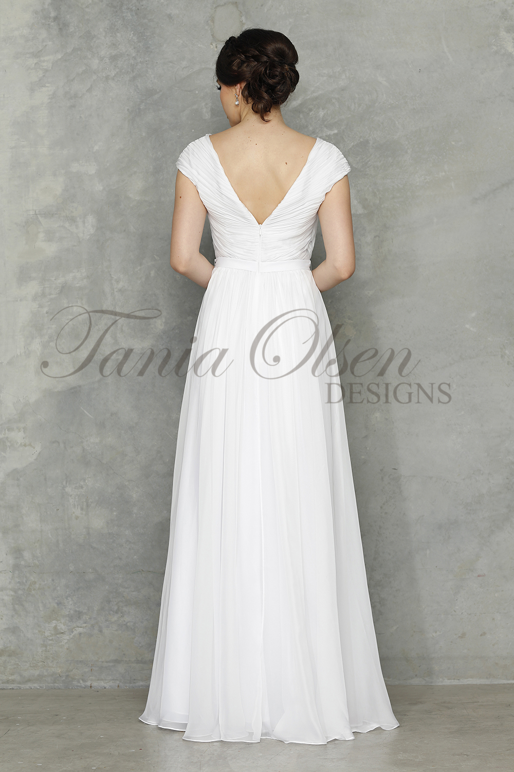 Tilly Wedding dress back