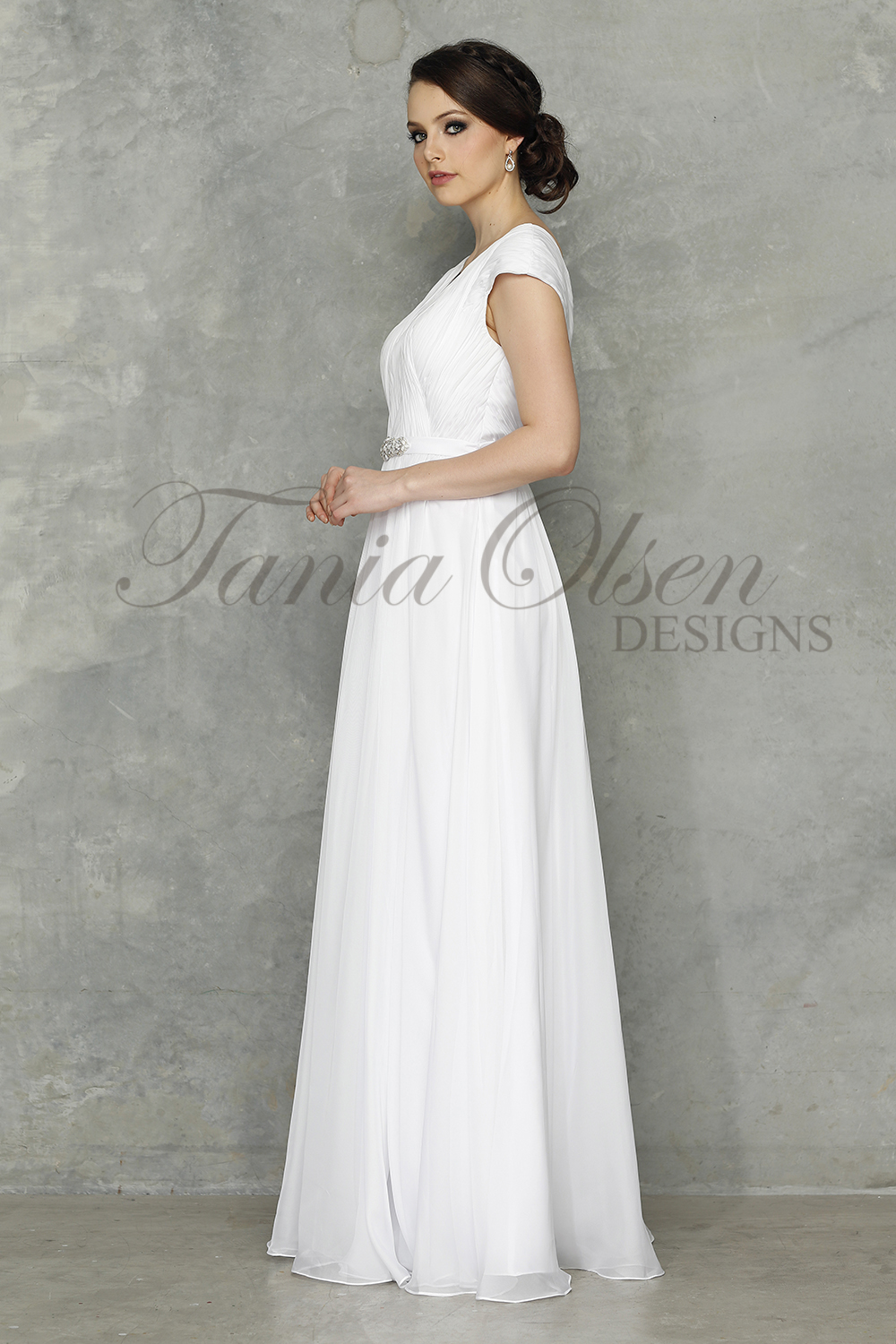 Tilly wedding Dress side