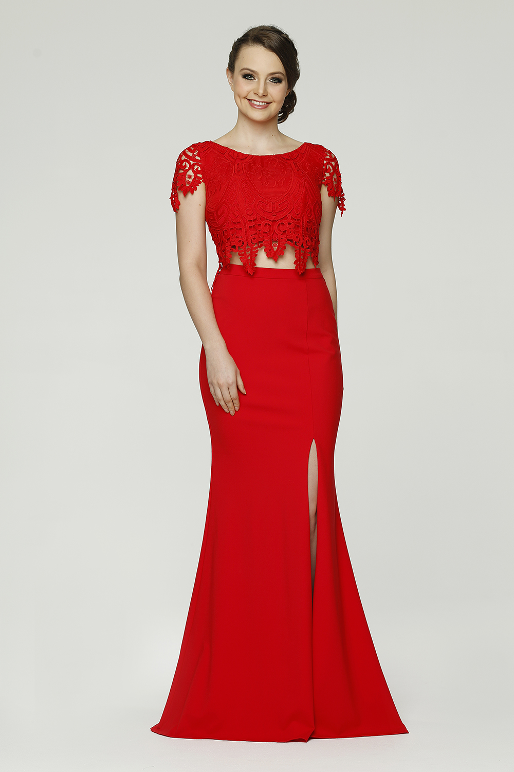 Zoe Formal dress PO61 red