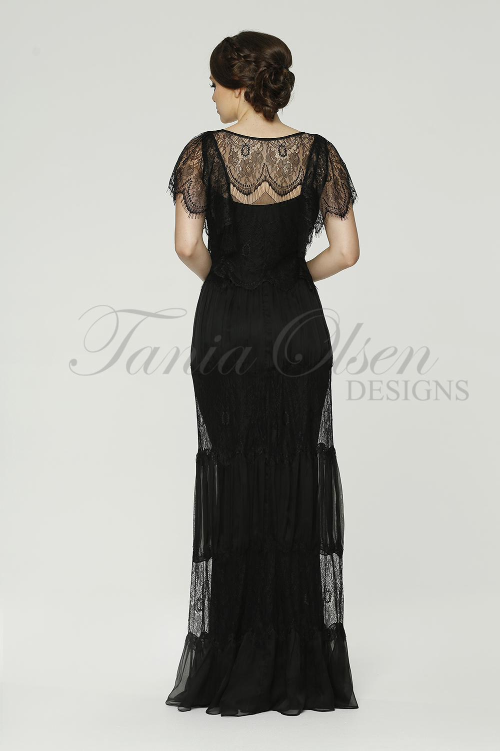 TO58 Clara Evening dress back