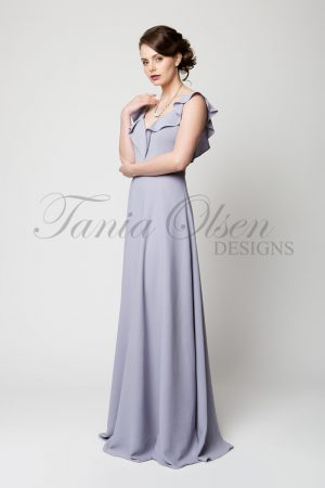 TO61 Scarlett Bridesmaid Dress Dusty Lilac Side