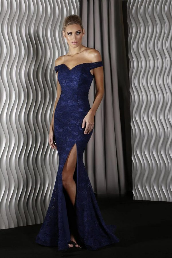 Harper Formal Dress Navy