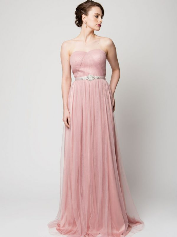 PO75 SAMMY BLUSH STRAPLESS