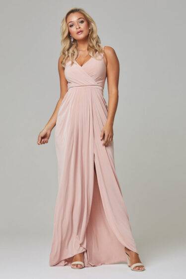 Bianca Bridesmiad Dress TO72.- Blush - Front