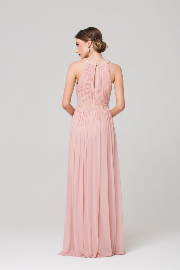 Bonita Stretch Tulle Bridesmaids Dress back
