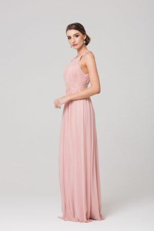 Bonita Stretch Tulle Bridesmaids Dress side