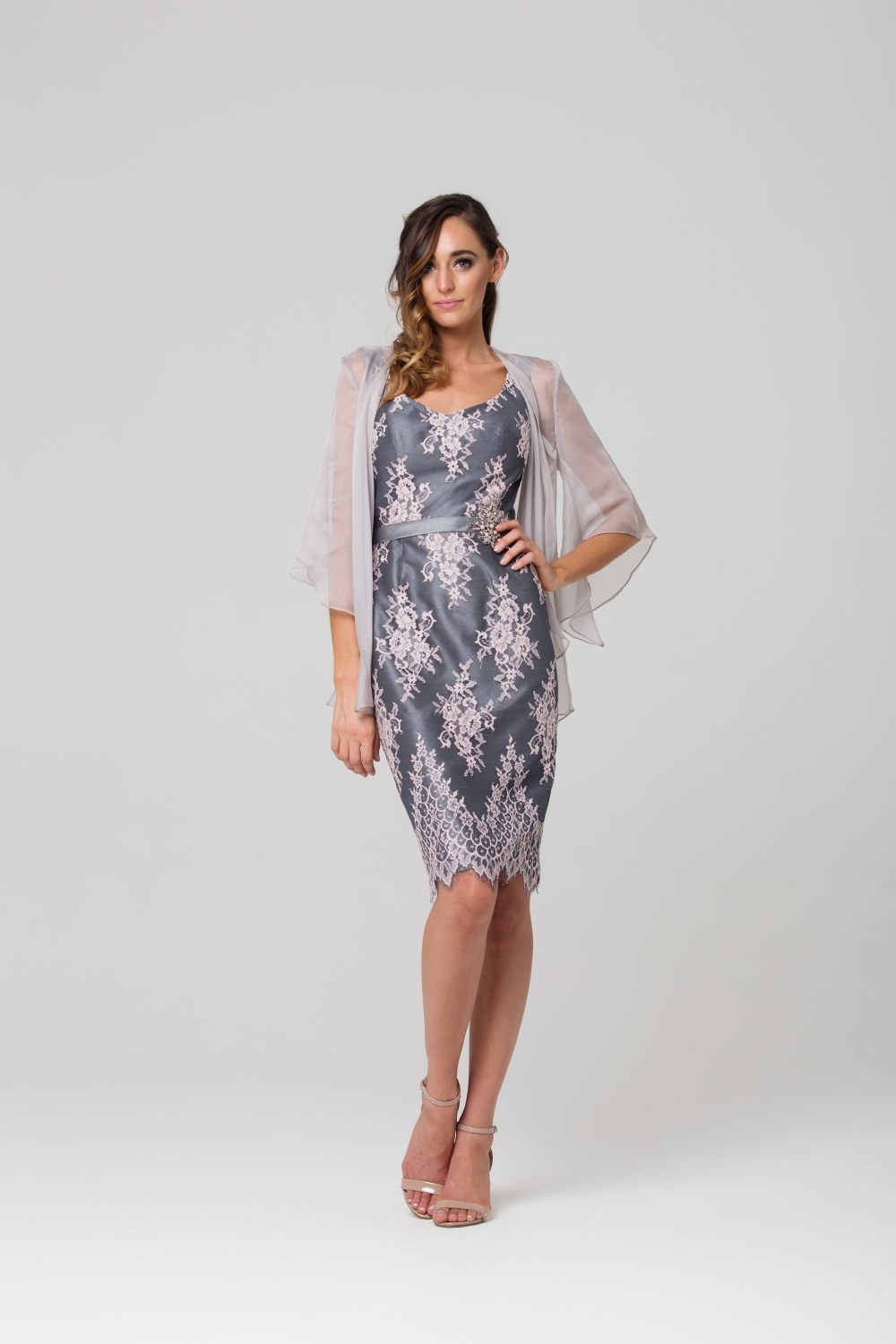 Fleur Mother of the Bride Dress with Jacket