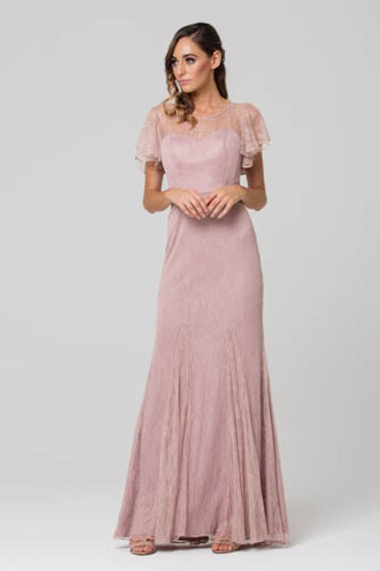 Harper bridesmaids dress oyster