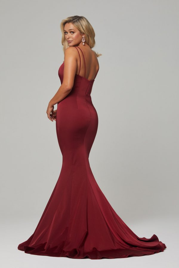 PO593-Wine-Bree dress-back (1)