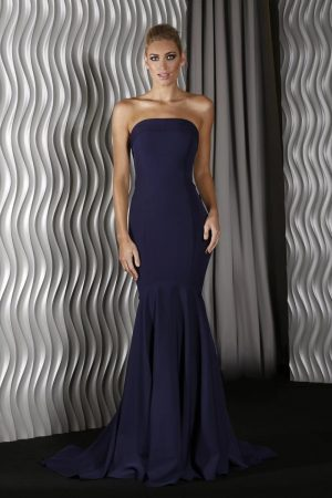Lina formal dress navy