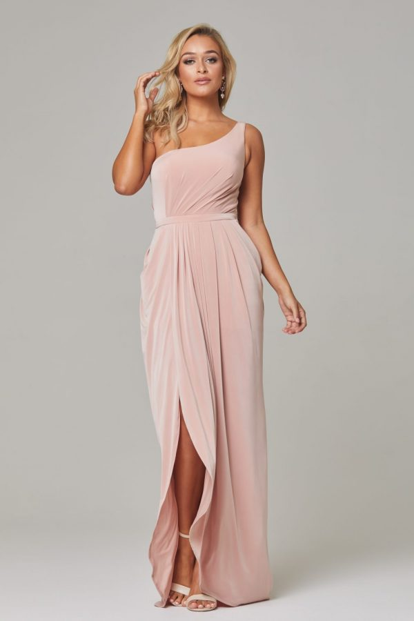 Eloise Bridesmaids Dress-blush