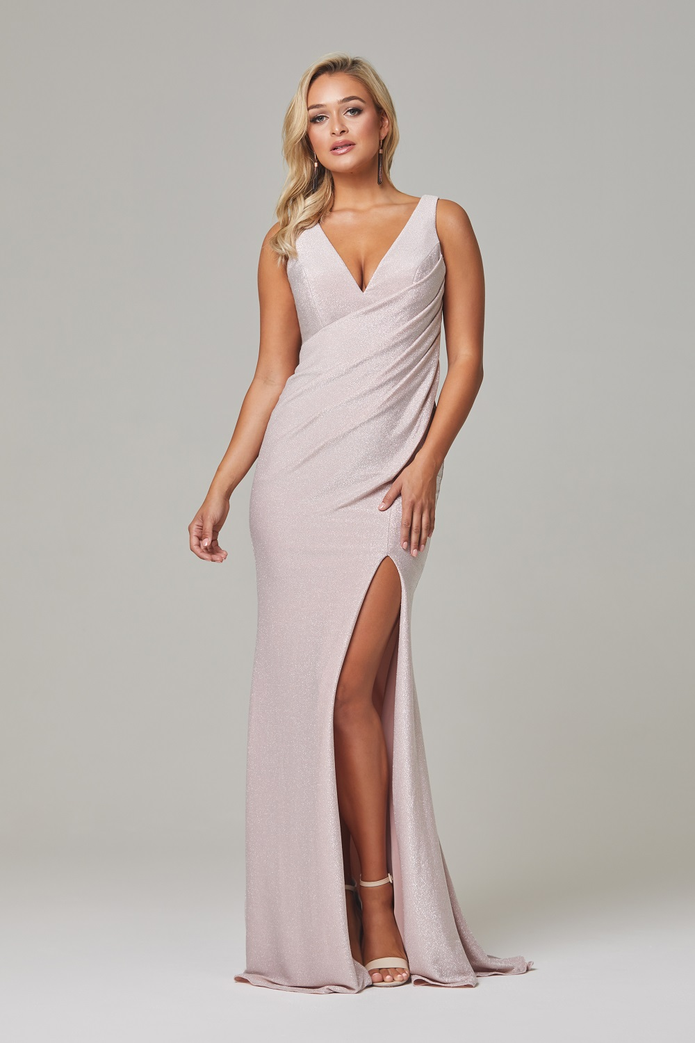 Londyn Evening Dress rose