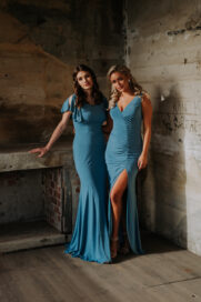 TO807 Libby and TO810 Lucia bridesmaids dress