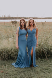 TO810 Lucia and TO807 Libby bridesmaids dress