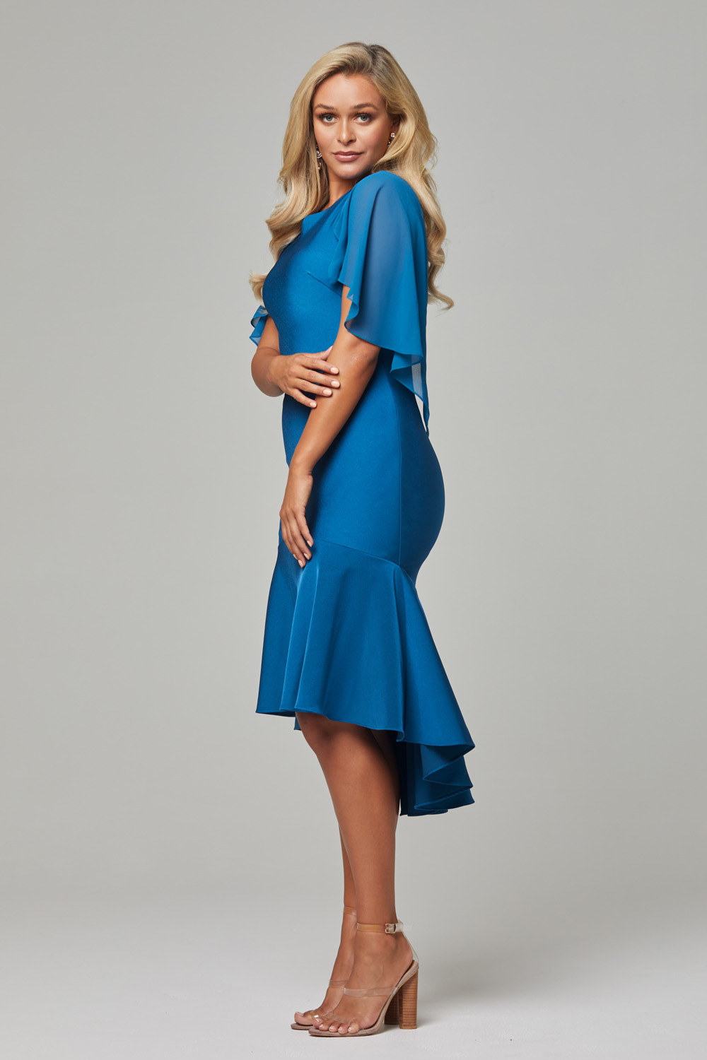 Evelyn Cocktail Dress teal