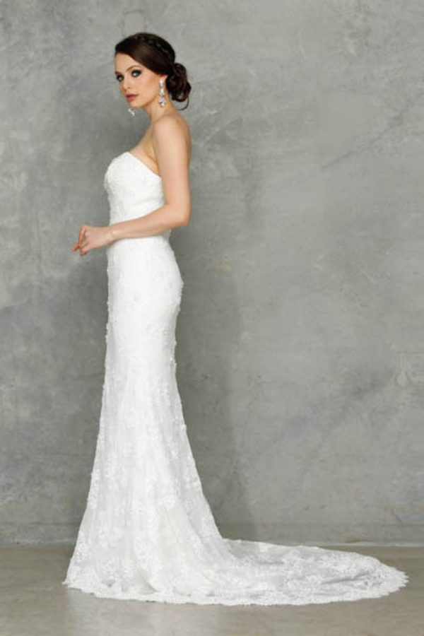 Jasmina Wedding dress side-3