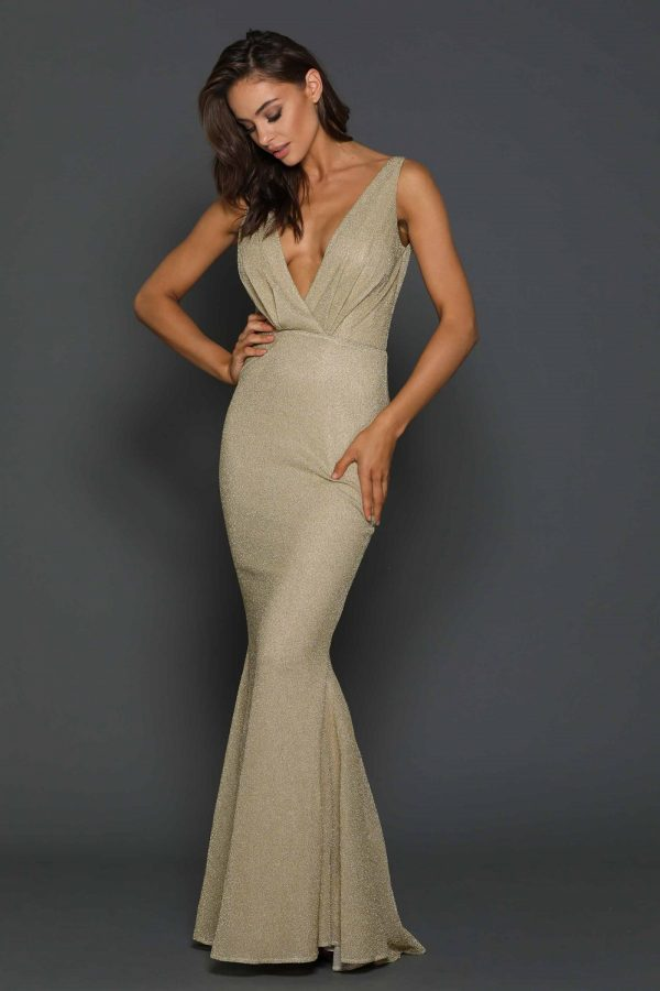 Laguna Gold Formal Dress