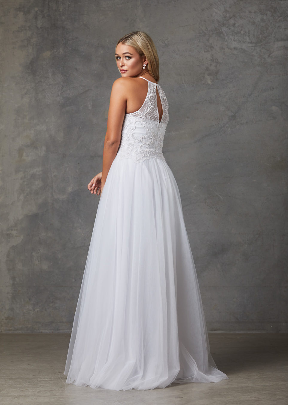 Sharnie Wedding Dress-Purewhite