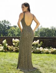 3228-CHARCOAL GOLD