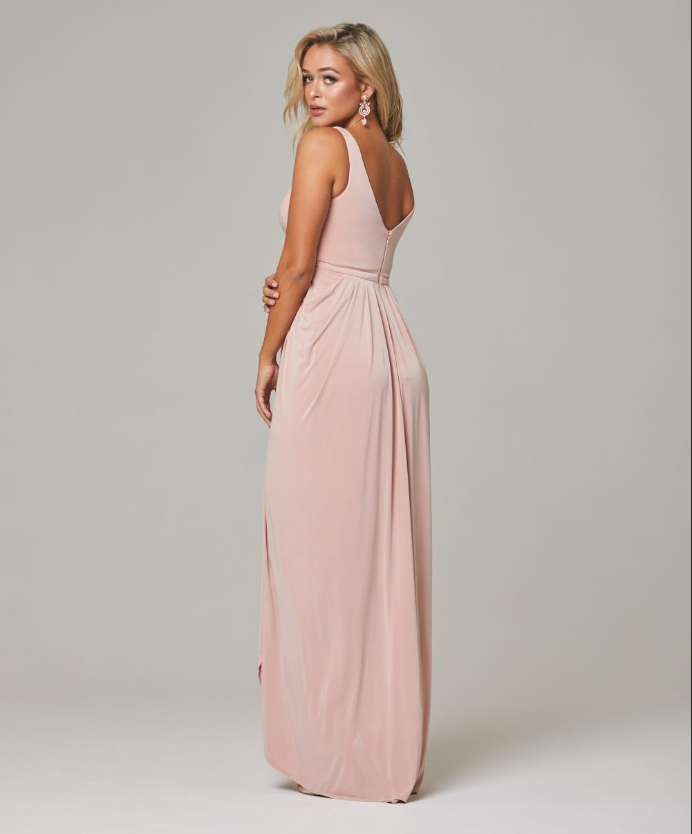 Bianca dress Blush back