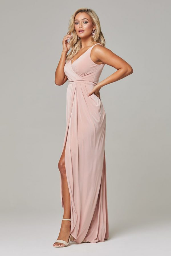 Bianca dress Blush side