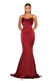 Dana Gown Red