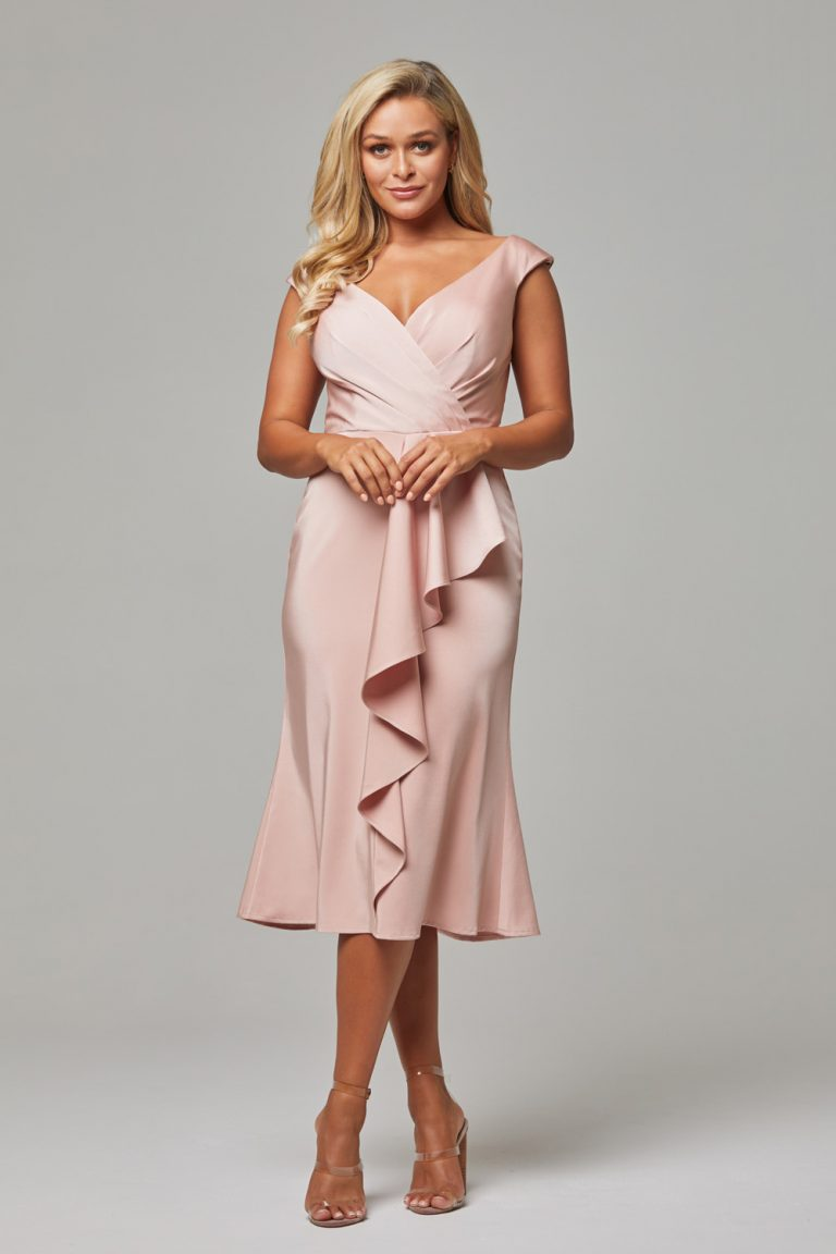 Gabrielle Cocktail Dress rose