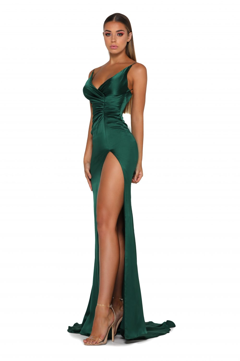 Hugo Gown Emerald
