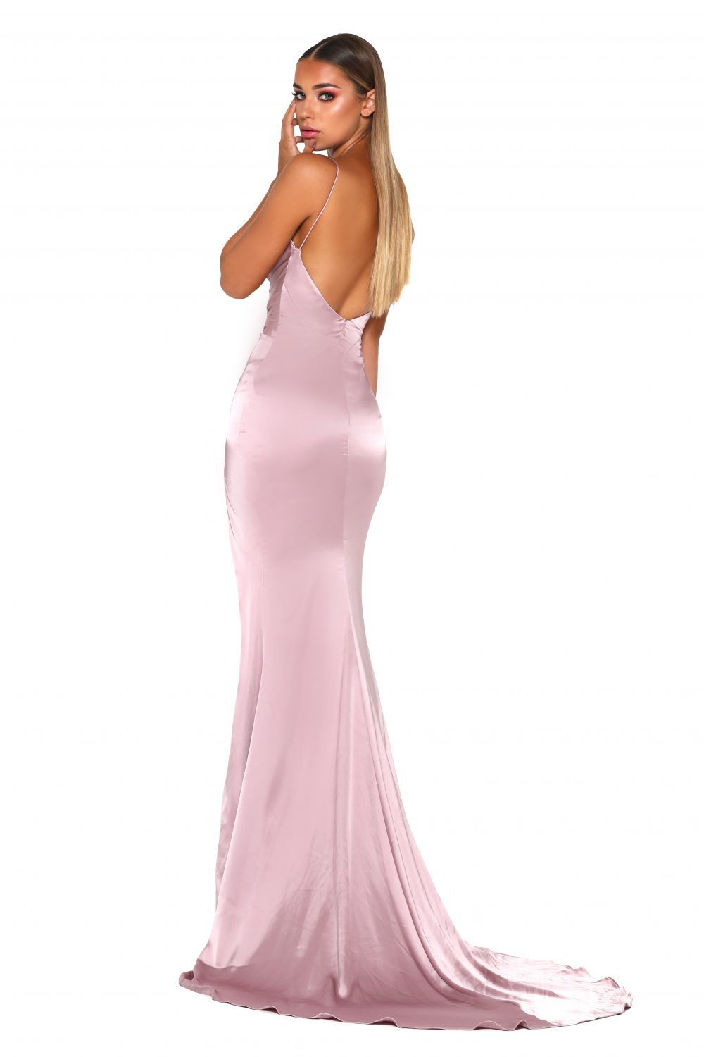 Hugo Gown Mauve