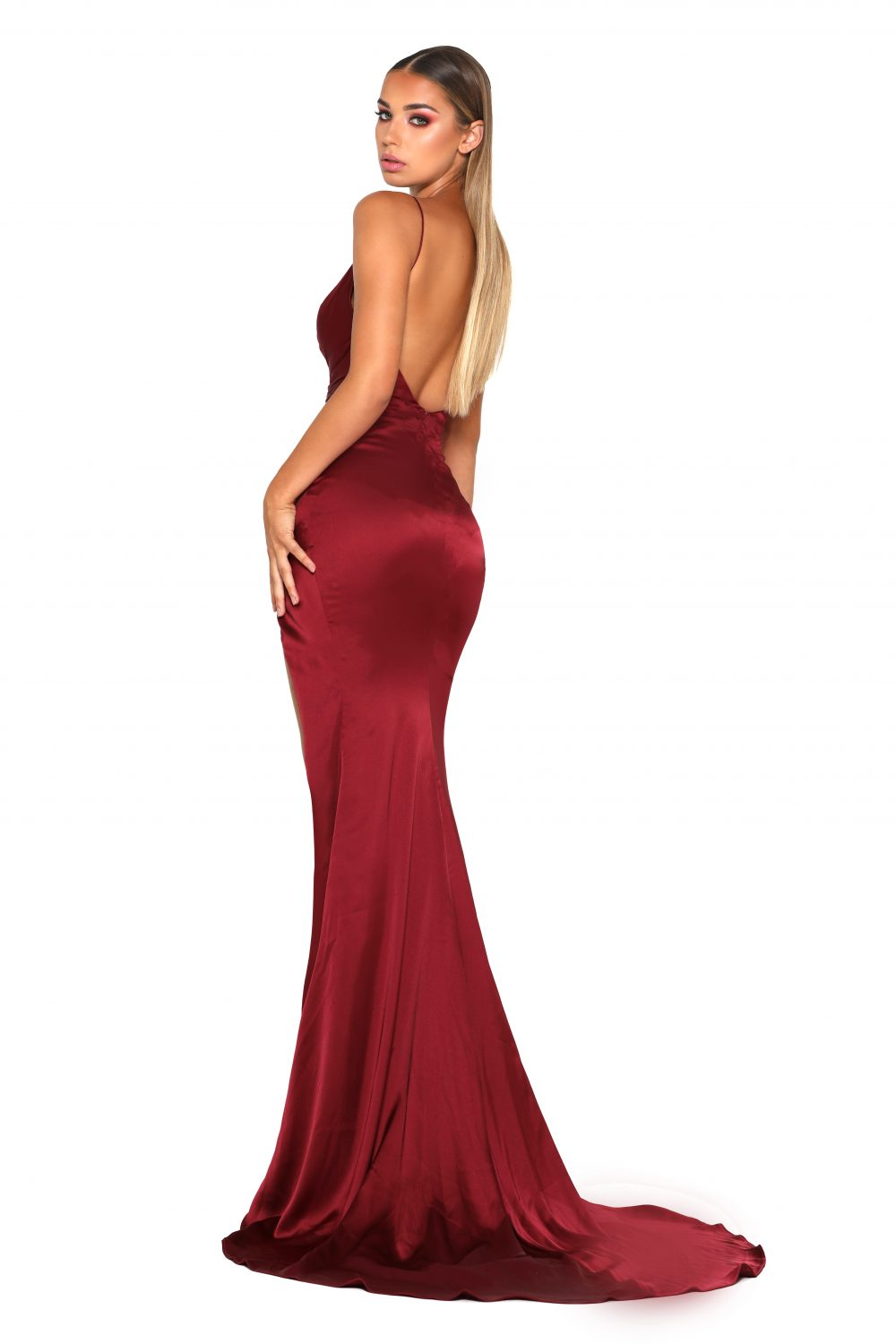 Hugo Gown Red