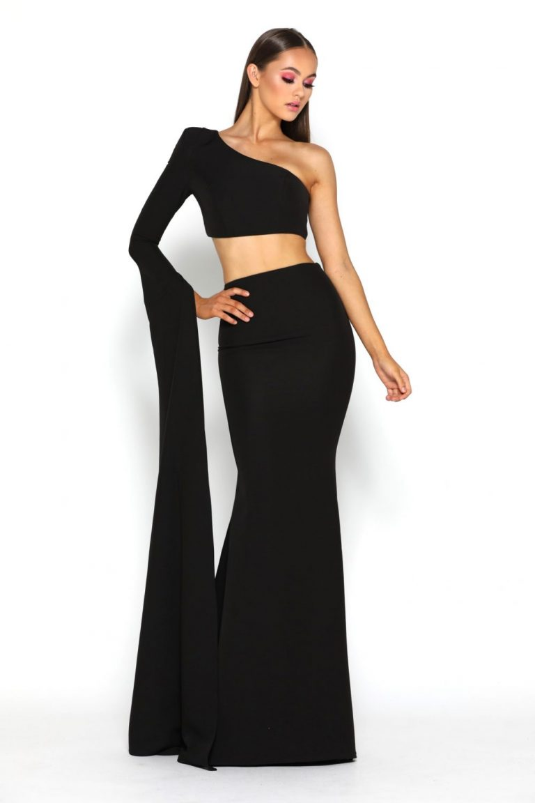 Jennifer Two Piece Black