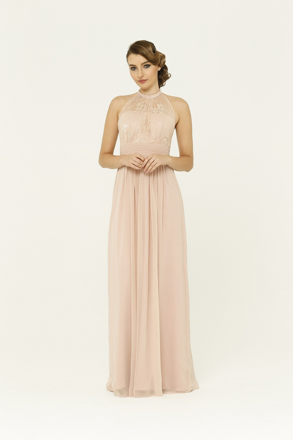 PO33 Harlow Bridesmaids dress - end of dye lot front