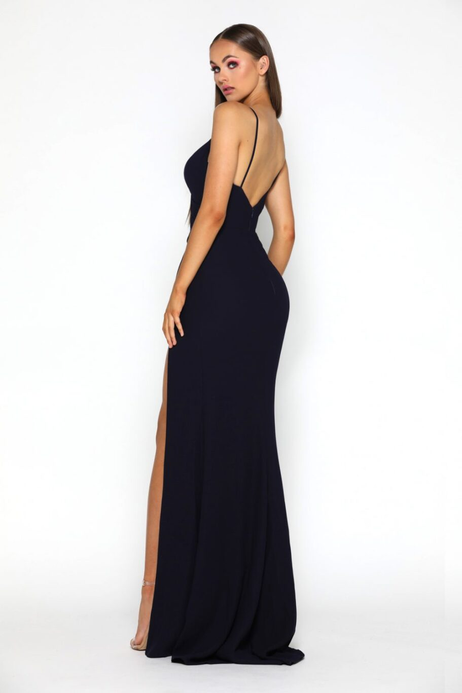 Rosabell Gown navy