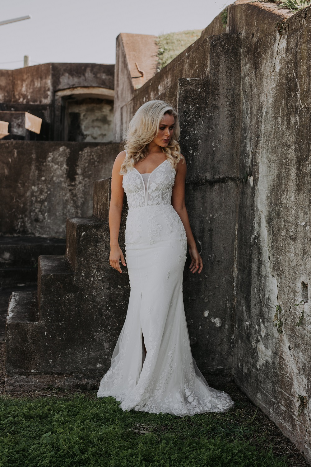Ornela wedding dress front
