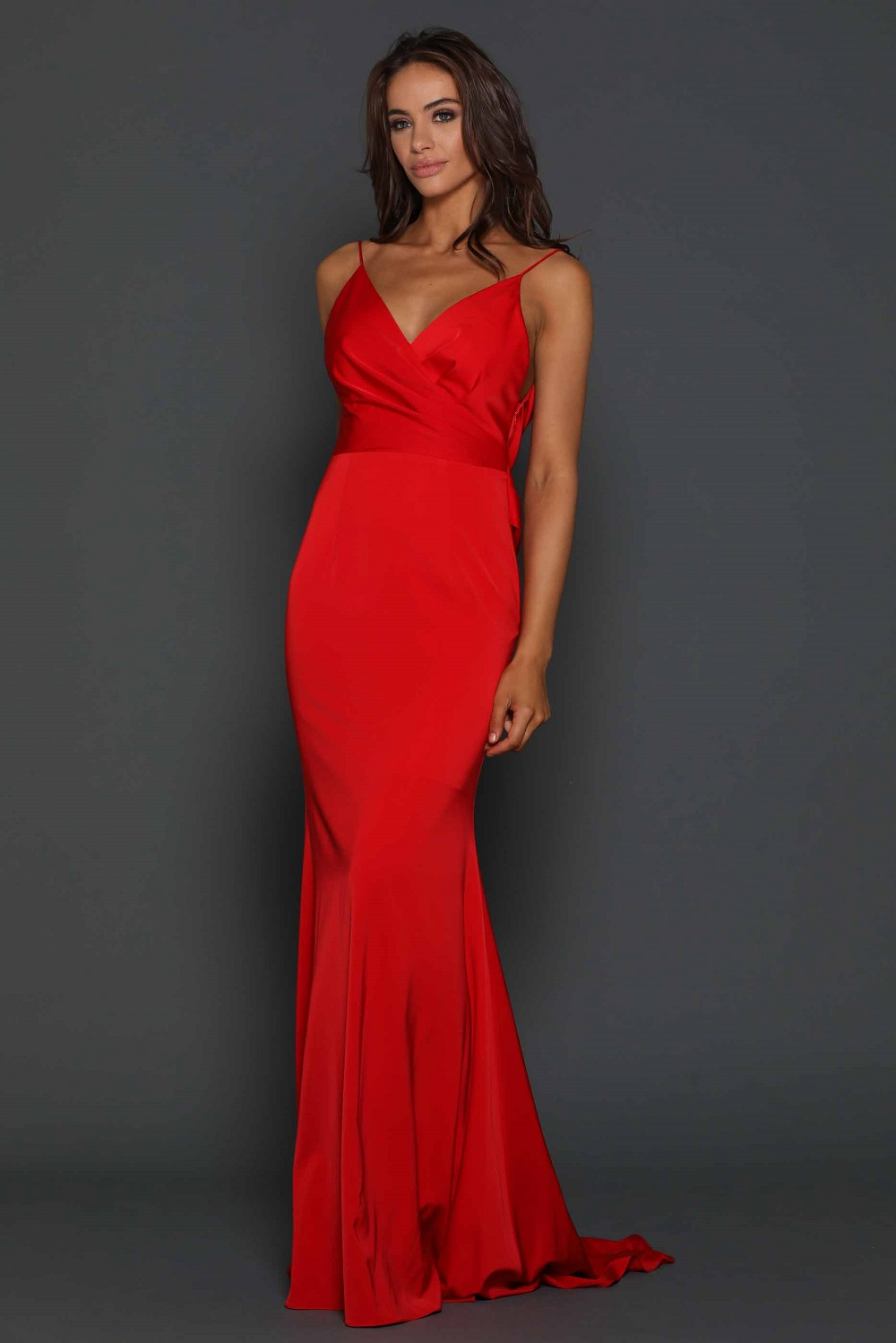 Rhiannon Formal Dress (Red)