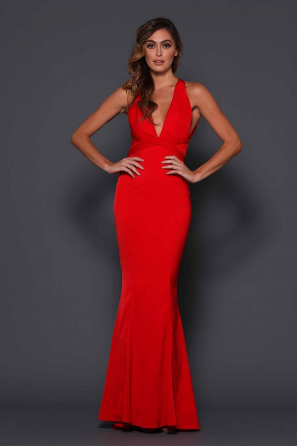 Garret Formal Dress Red
