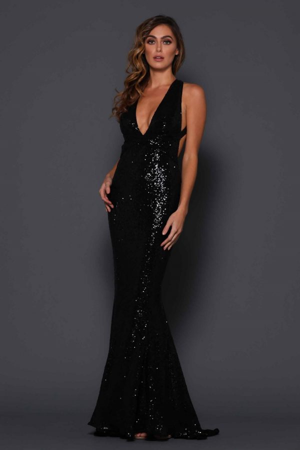 Garrett Formal Dress Black