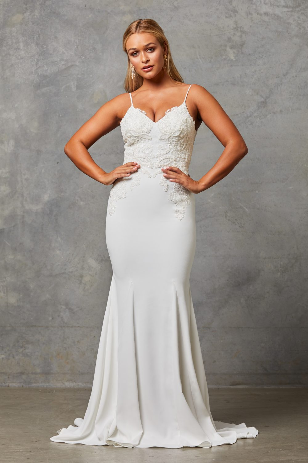 Brylee Wedding Dress front