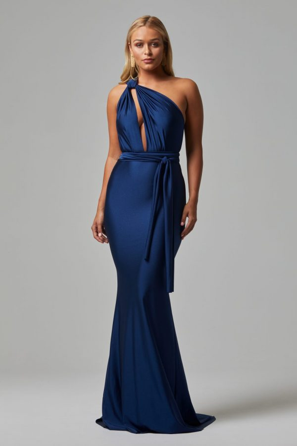 Eternity formal dress NAVY FRONT
