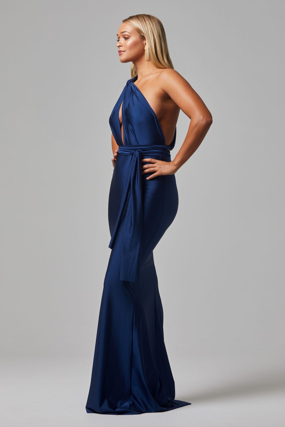 Eternity formal dress NAVY SIDE
