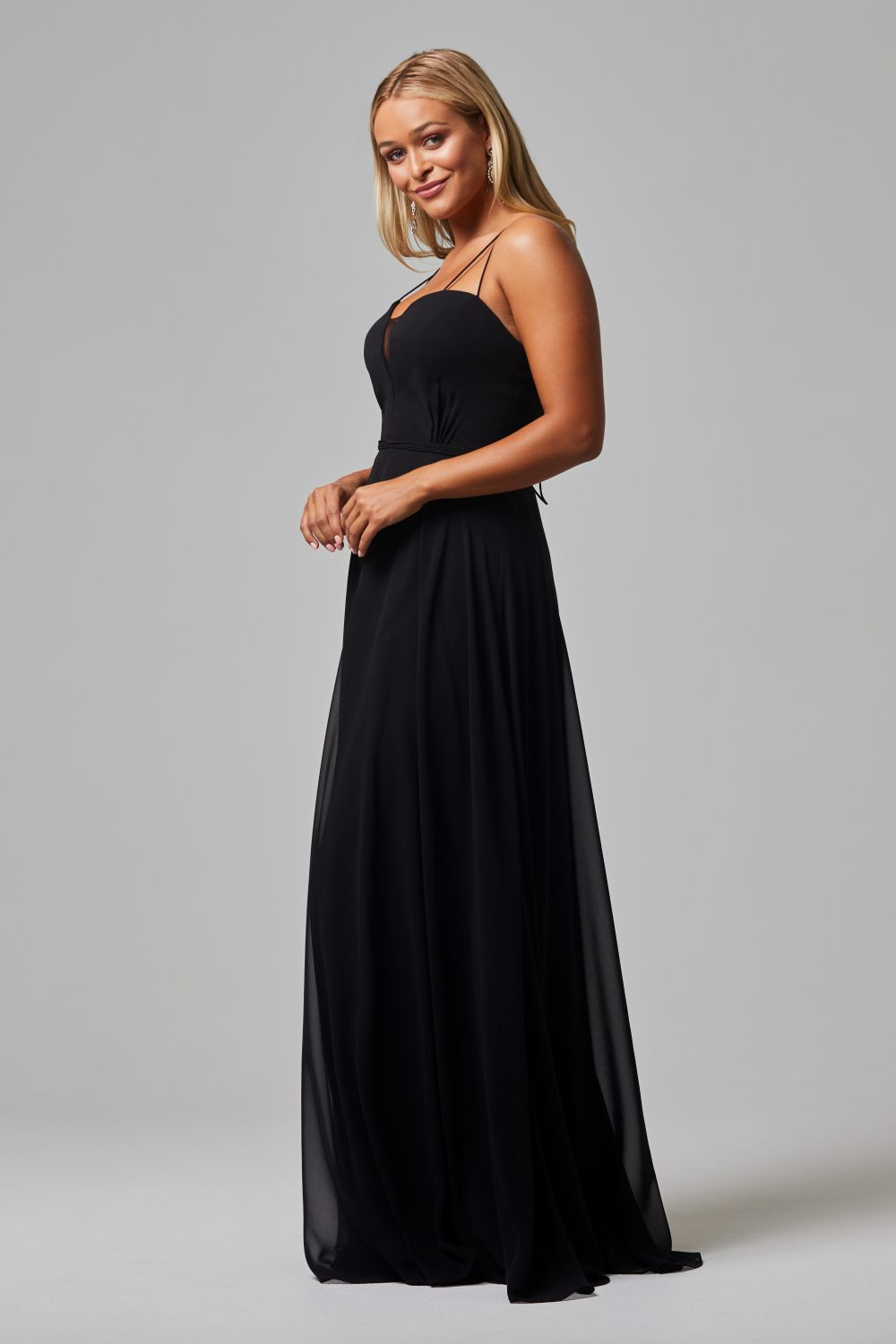 Freda Bridesmaid Dress BLACK side