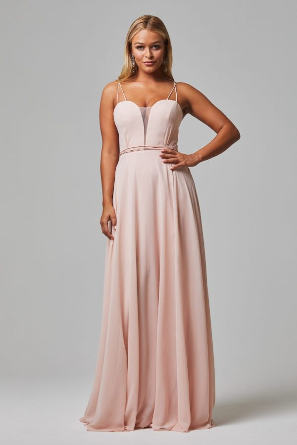 Freda Bridesmaid Dress PINK front